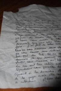 fabriquer un manuscrit ancien