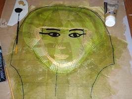 tuto fabrication tombeau egyptien dessin