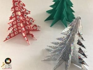comment plier sapin origami