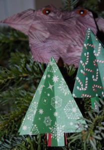 sapin simple origami