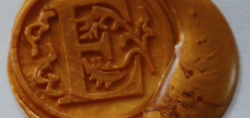 sceau de cire MlleE