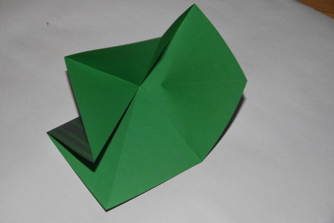 sapin-origami tuto image7
