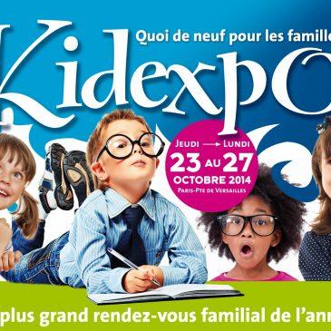 Première visite à Kidexpo