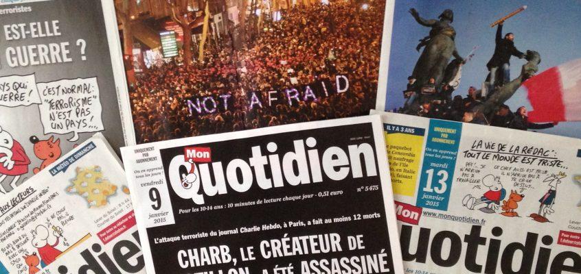 journaux enfants attentats