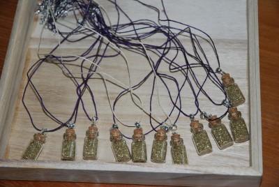 fioles de poudre d'or explorador