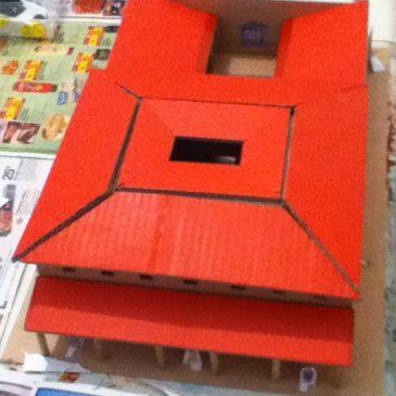 Comment fabriquer une maquette de maison romaine?