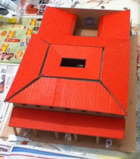 Populaire Comment fabriquer une maquette de maison romaine? JV08