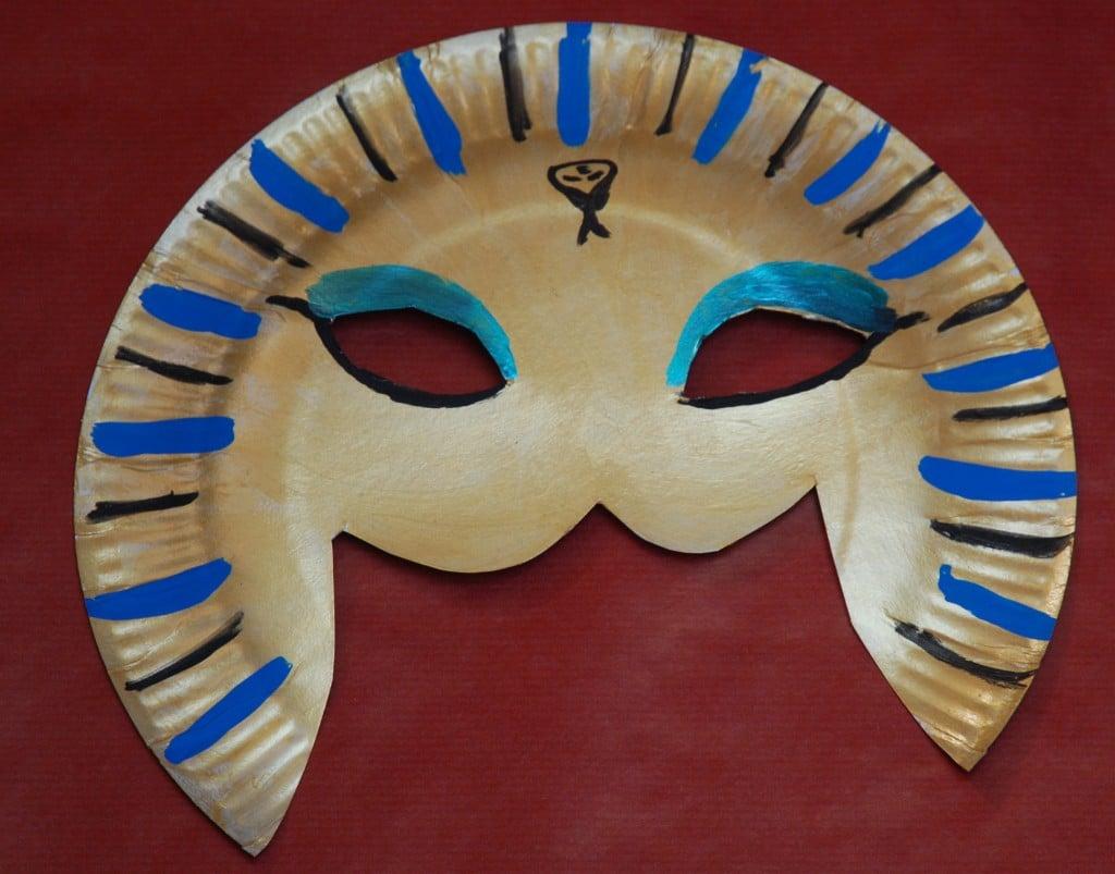 masque de pharaon DIY