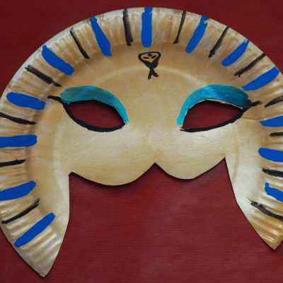 masque de pharaon DIY