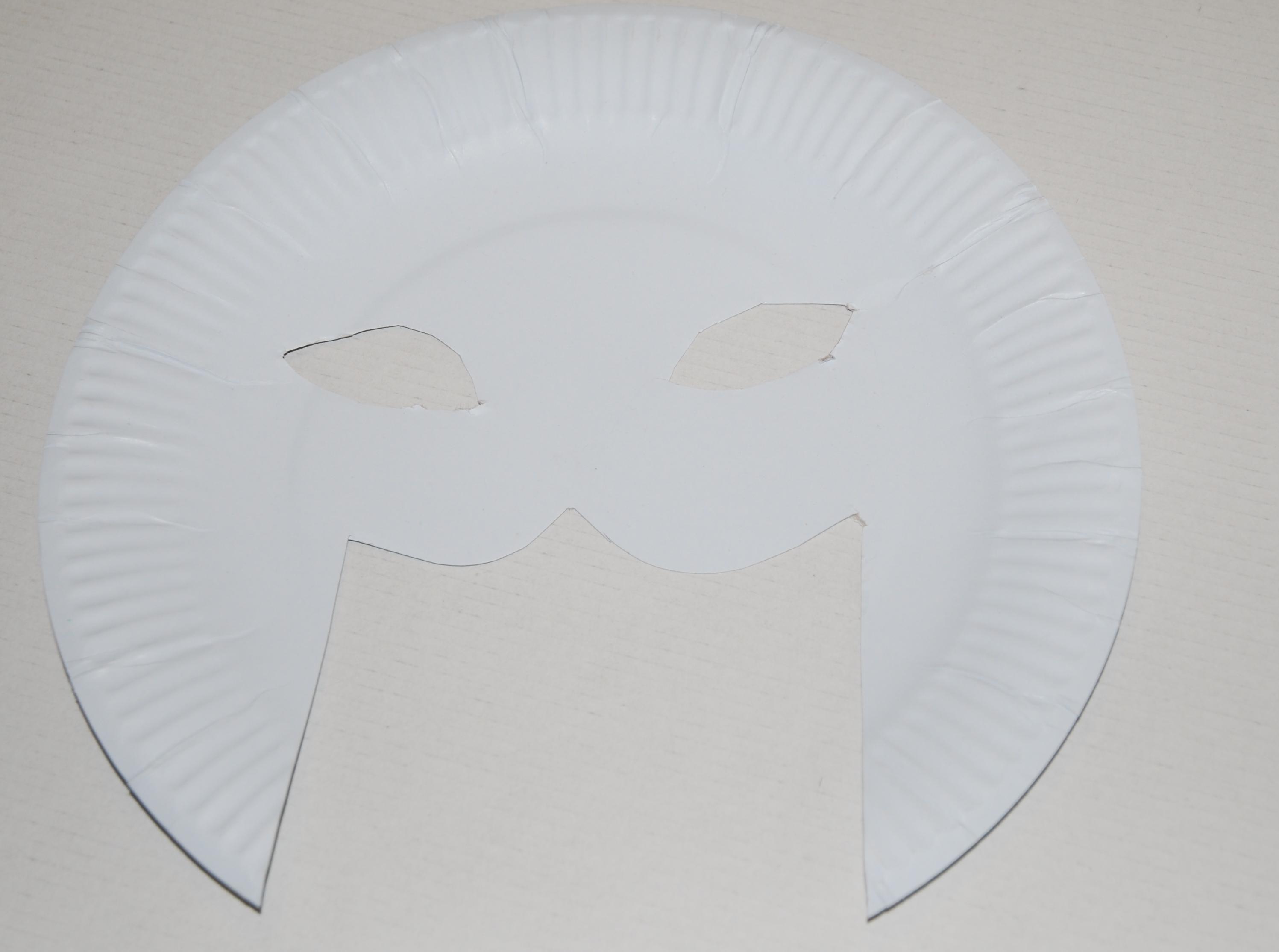 tuto masque pharaon