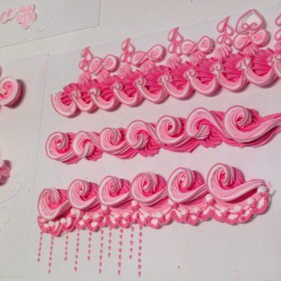 D coration de g teaux salon sugar paris 2015 les id es - Recette decoration gateau poche a douille ...
