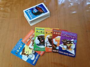 emporte un jeu de 7 familles en voyage avec enfants