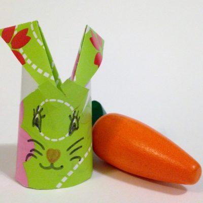 Pour p ques un pliage de lapin en papier facile tuto - Pliage papier cadeau ...