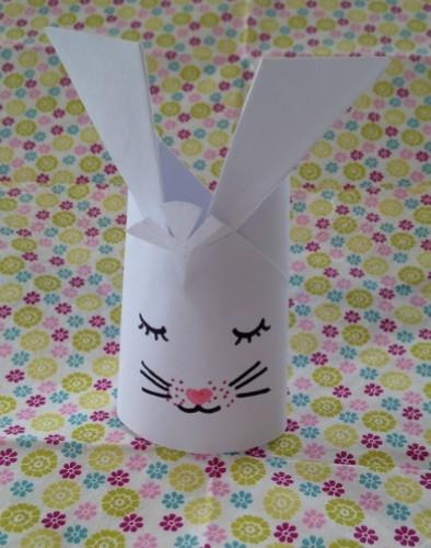 pliage lapin papier enveloppe