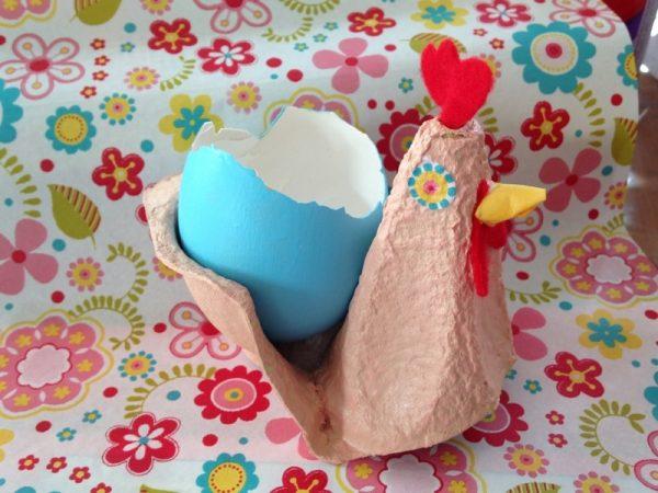 Tuto cocotte de paques diy paques - Comment faire une poule en papier ...