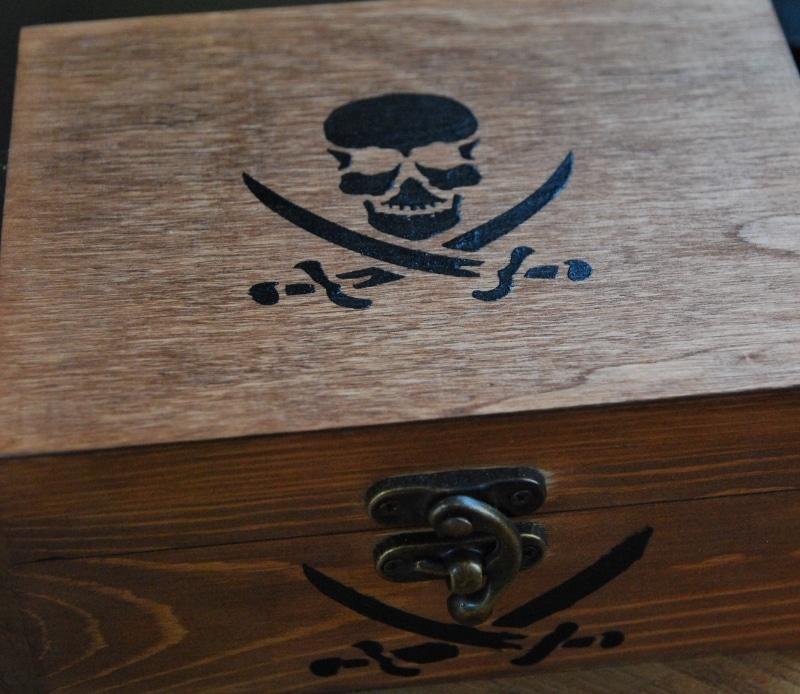 Pin belle boite en bois d corer pour faire des boites - Comment decorer une boite a chaussure ...