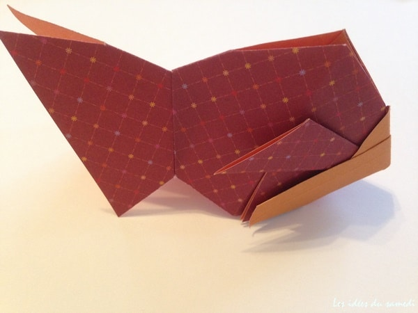gold fish origami
