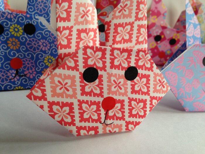 petit tete de lapin simple pour les enfants