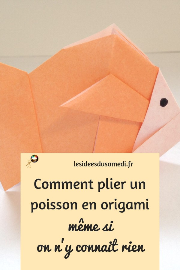 pliage poisson 1eravril origami