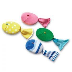 poisson d'avril en chaussettes