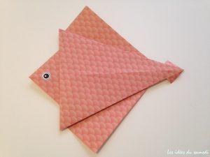 poisson origami facile
