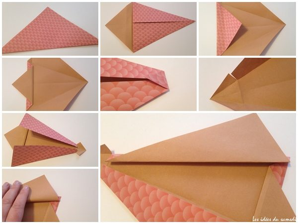 poisson origami facile petits