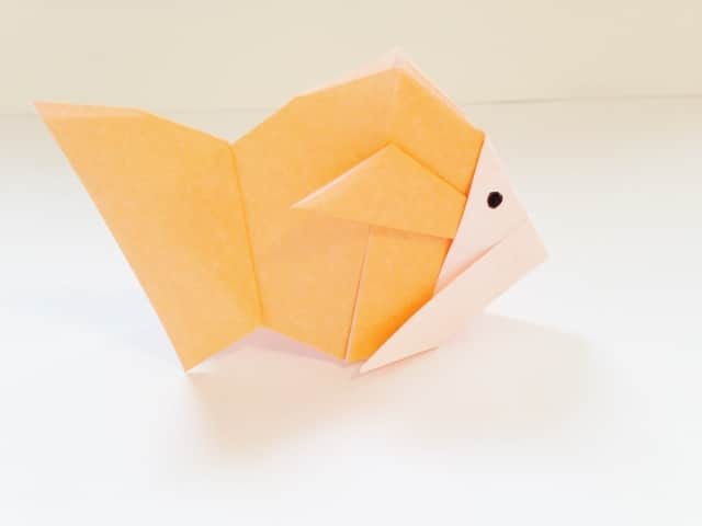 poisson origami orange