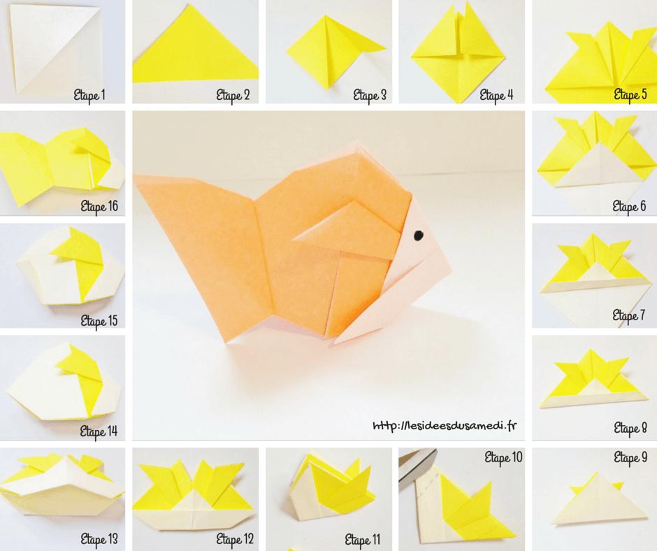 Poisson d 39 avril origami pour petits et grands - Origami facile a faire animaux ...