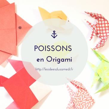Poisson d'avril: origami pour petits et grands