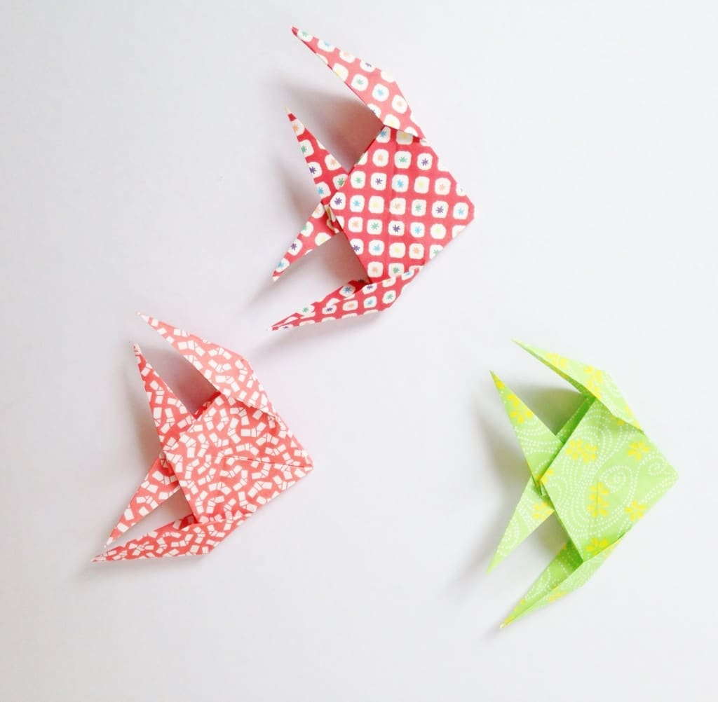 poissons origami michiaki
