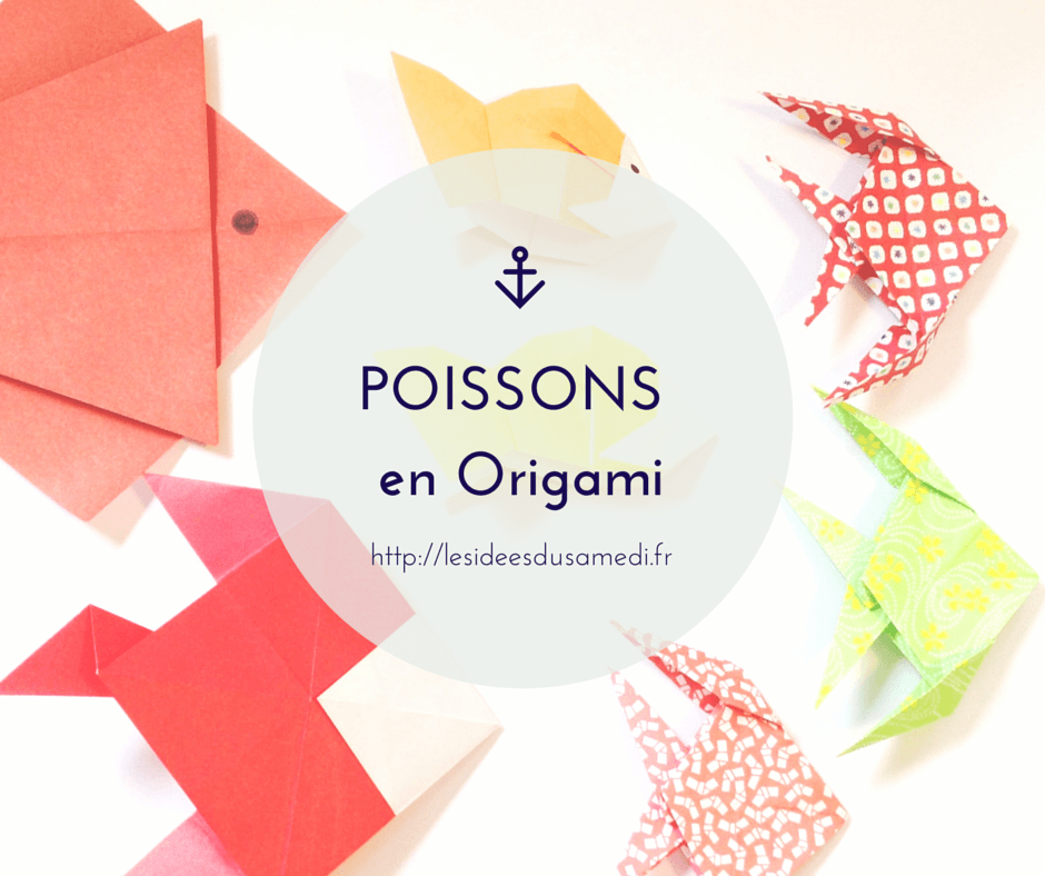 Poisson d 39 avril origami pour petits et grands - Origami pour les petits ...
