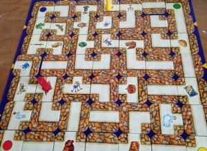 plateau de jeu labyrinthe
