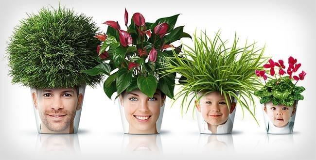 pot de fleurs personnalisé fete des mères