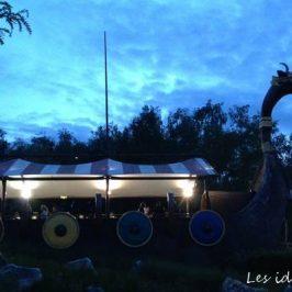 coucher de soleil au parc asterix