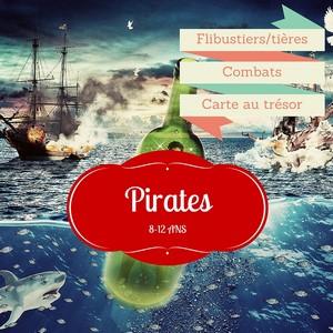 anniversaire pirate explorador