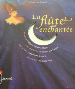 couverture livre cd la flute enchantee