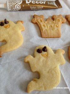fantomes biscuits halloween
