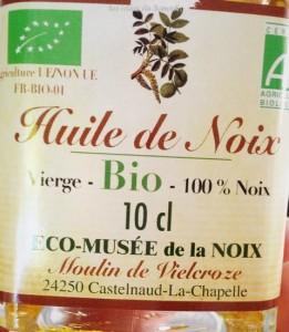 huile de noix castelnaud