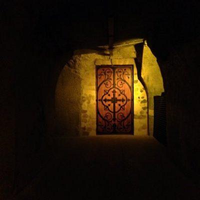 porte mystere cave taittinger