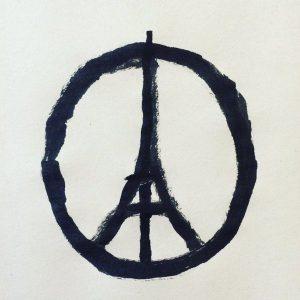 paris paix jean jullien
