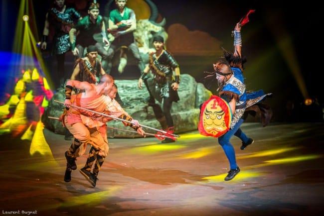 cirque phenix moines