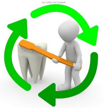 Une brosse à dents recyclable dans ma boîte aux lettres #madeinfrance