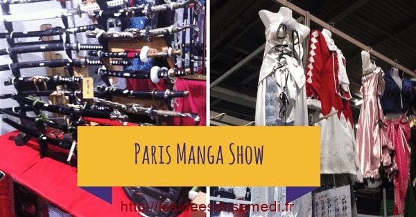 Retour sur le Paris Manga Show
