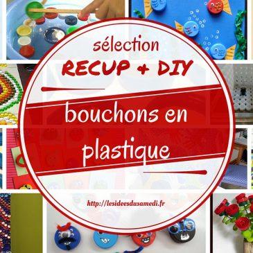 Recup: Jeux et créations avec bouchons de bouteilles plastique