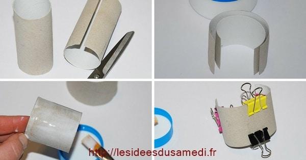 bracelet manchette rouleau papier