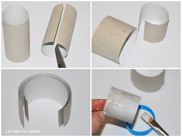 bracelet rouleau papier toilette
