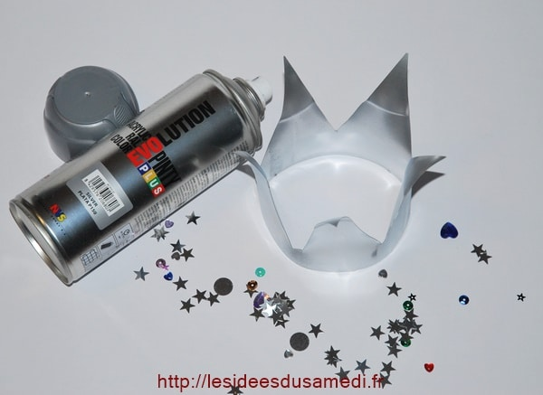 couronne argent bombe spray