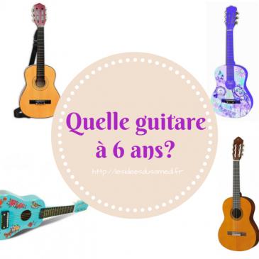 Quelle guitare à 6 ans? et test guitare Lexibook