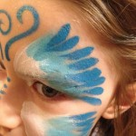maquillage papillon extraterrestre