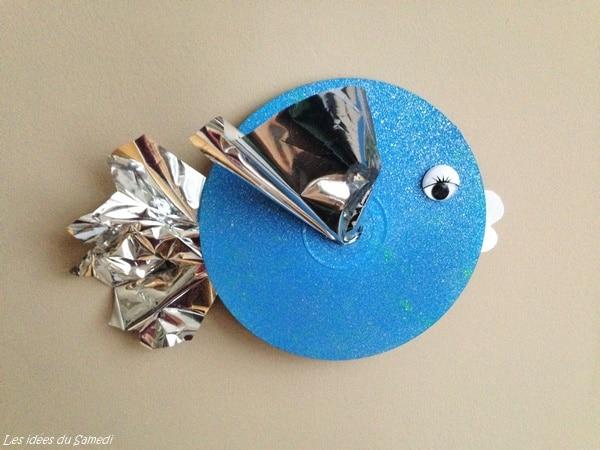 poisson bleu cd